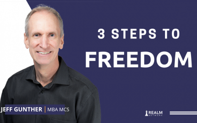 3 Steps to Freedom